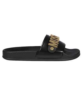Moschino MA28032G1C M11 LETTERING LOGO Slides