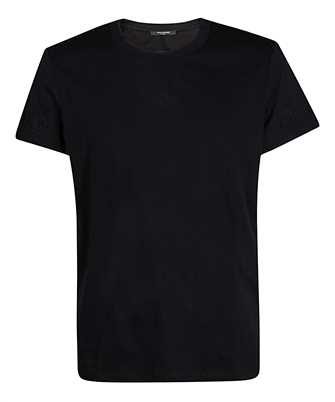 Balmain UH11601I337 EMBOSSED T-shirt