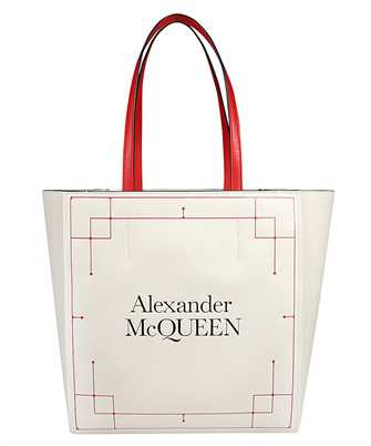 Alexander McQueen 648231 1YB18 SIGNATURE SHOPPER SHOULDER Taška