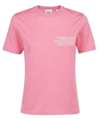 Burberry 8043231 LOCATION PRINT COTTON T-shirt
