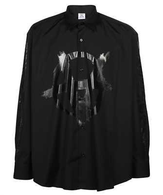 Vetements UA52SH550B DOUBLE ANARCHY LOGO Shirt