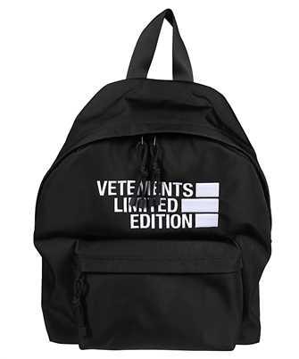 Vetements UE51BA500B LOGO LIMITED EDITION Backpack