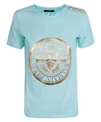 Balmain UF11350I369 MEDALLION PRINT T-shirt