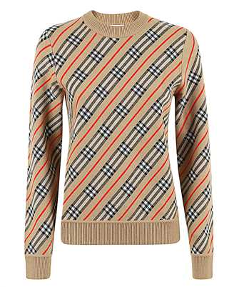 Burberry 8033234 STRIPE MERINO WOOL Knit