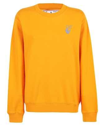 Off-White OWBA055F21JER001 CHINE ARROWS REG CREWNECK Sweatshirt