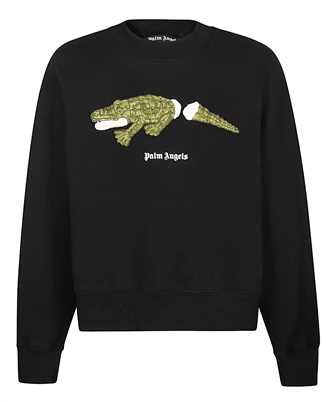 Palm Angels PMBA026R21FLE002 CROCO Sweatshirt