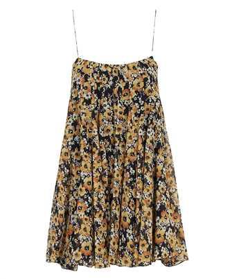 Saint Laurent 644241 Y5C54 GEORGETTE FLEURIE Dress