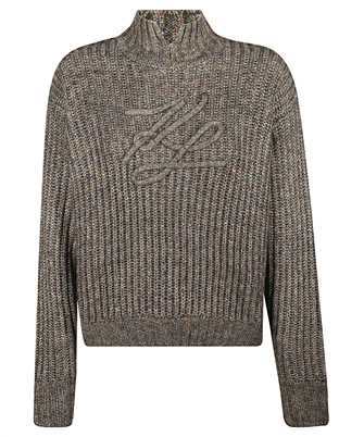 Karl Lagerfeld 206W2007 SOUTACHE SIGNATURE Knit