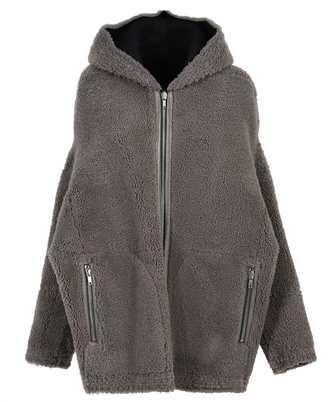 Rick Owens RP02A7722 LSHW ZIP FRONT PETER REVERSIBLE Jacket