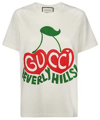 Gucci 580762 XJCRJ BEVERLY HILLS CHERRY T-shirt