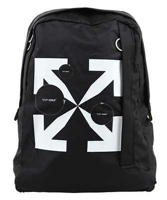 Off-White OMNB019F20FAB003 CUT HERE EASY Backpack