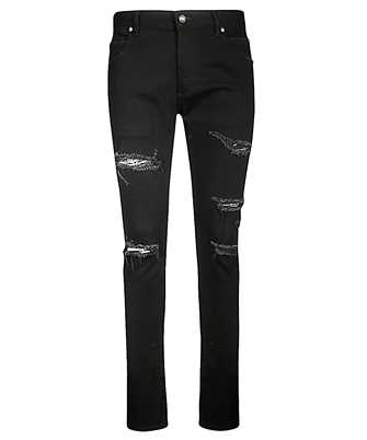 Balmain SH15230Z126 DISTRESSED SLIM Jeans