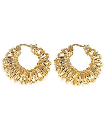 Bottega Veneta 649276 VAHU0 SPIRAL DESIGN Earrings