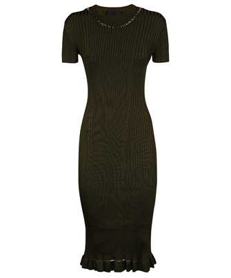 Givenchy BW216G4Z9V RIBBED KNIT WITH CHAIN Dress