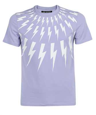 Neil Barrett PBJT890S Q509S THUNDERBOLT T-shirt