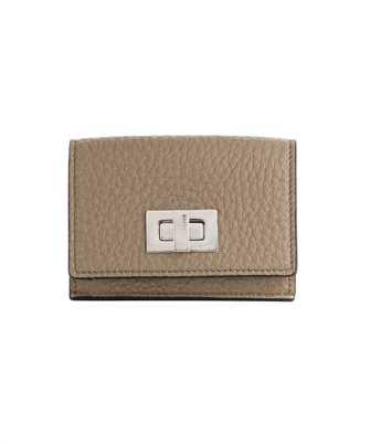Fendi 8M0426 A91B MICRO TRIFOLD Wallet