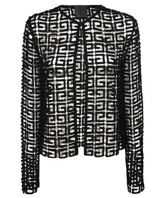 Givenchy BW30CY20AQ 4G GUIPURE Jacket