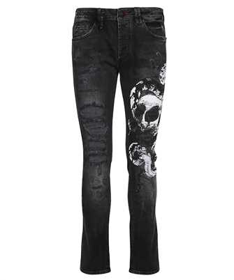 Philipp Plein PAAC MDT2492 SUPER STRAIGHT CUT SKULL Jeans