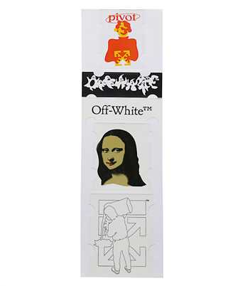 Off-White OMZG034E20MAT002 MONALISA Sticker set