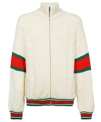 Gucci 599311 XKA32 CABLE KNIT BOMBER Jacket