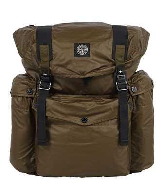 Stone Island 90370 MUSSOLA GOMMATA CANVAS PRINT Backpack