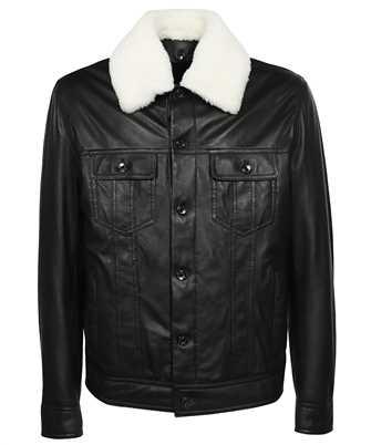 Dolce & Gabbana G9VN0L HULLZ LAMBSKIN AVIATOR Jacket