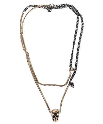 Alexander McQueen 628137 J160K SKULL CHAIN Necklace