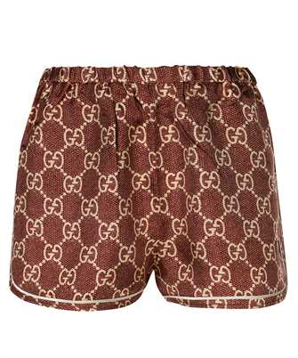 Gucci 644589 XJCL5 GG SUPREME PRINT SILK Shorts