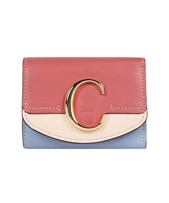 Chloé CHC21SP058E19 TRI-FOLD Wallet
