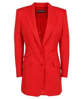 Dolce & Gabbana F29JVT HUMCA SINGLE-BREASTED SCHAPPE Jacket