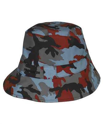 Dsquared2 HAM0021 11703887 CAMOUFLAGE NYLON BUCKET Hat
