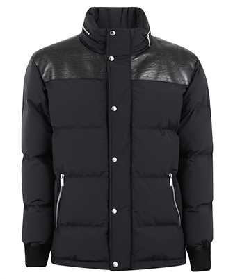 BERLUTI R18OBL90 001 NYLON WITH SCRITTO LEATHER Jacket