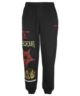 Vetements UA52PA350X HARDCORE PATCHED LOGO SWEAT Trousers