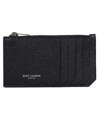 Saint Laurent 609362 BTY0N FRAGMENT ZIPPED Card holder