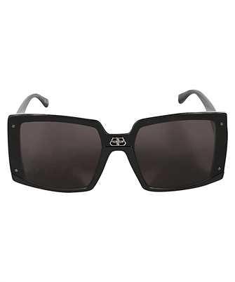 Balenciaga 609371 T0003 SHIELD SQUARE Sunglasses