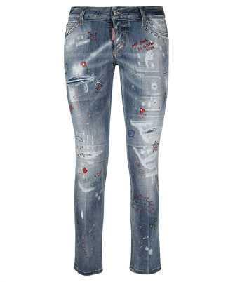 Dsquared2 S75LB0491 S30708 JENNIFER CROPPED Jeans