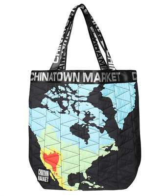 Chinatown Market 270031 GLOBE NYLON TOTE Bag