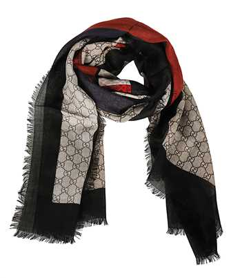 Gucci 429733 4G200 SNAKE Scarf