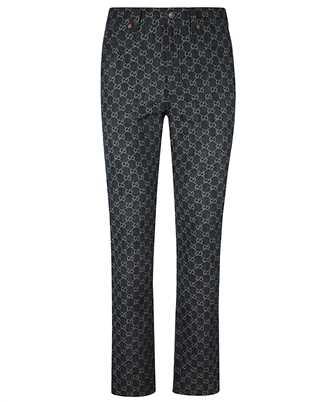 Gucci 649092 XDBK1 GG DENIM Jeans