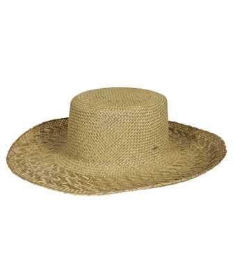 Saint Laurent 652571 3YG80 STRAW HONOLULU Hat