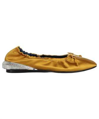 Lanvin FW BAOB02 RAST E21 SATIN BUMPR STRASS Shoes
