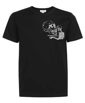 Alexander McQueen 666619 QRX03 SKULL T-shirt