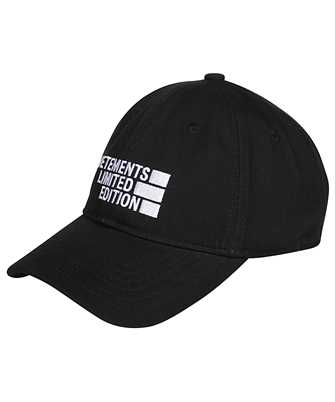 Vetements UE51CA700B LOGO LIMITED EDITION Cap