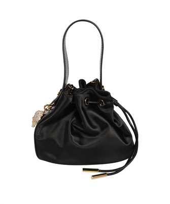 Versace 1000885 1A00958 MINI SATIN BUCKET Bag