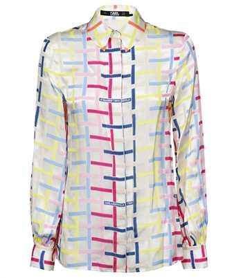 Karl Lagerfeld 215W1603 KARL CHECKED SILK Shirt