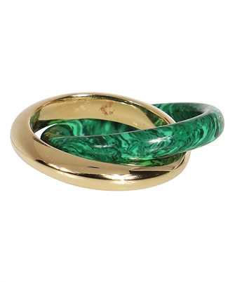 Bottega Veneta 651209 VCCU3 INTERLOCKING DOUBLE Ring
