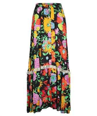 Gucci 652660 ZAGH5 KEN SCOTT PRINT VISCOSE Skirt