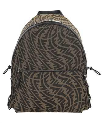 Fendi 7VZ042 AFT5 FF VERTIGO FABRIC Backpack