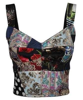 Dolce & Gabbana F7W98T GDX77 BUSTIER Top