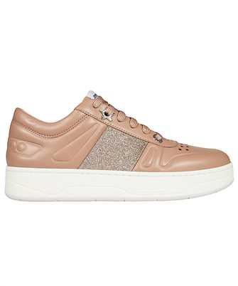 Jimmy Choo HAWAII/F FAF GLITTER STRIPE Shoes